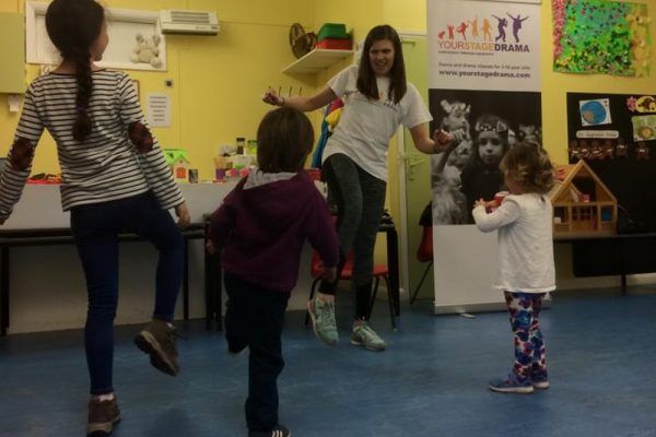 Pitshanger Playcentre workshop with Amy