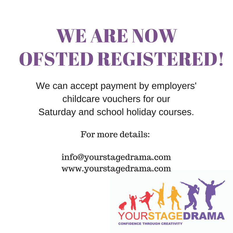 Yourstage is Ofsted Registered!